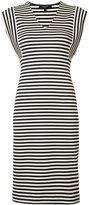 Derek Lam striped dress - women - Cotton/Elastodiene - 36