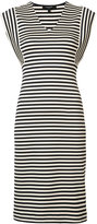 Derek Lam striped dress - women - Cotton/Elastodiene - 38