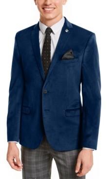 Nick Graham Men's Slim-Fit Velvet Sport Coat