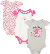 Hudson Baby Pink & White 'Best Friends' Bodysuit Set
