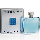 Azzaro Loris Chrome for Men Eau De Toilette Spray 3.4 Oz.