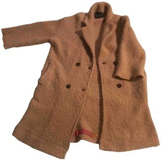 Roberto Collina Pink Wool Coat for Women