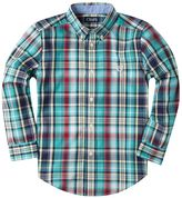 Chaps Boys 4-7 Plaid Button-Down Shirt