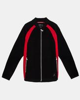 Jordan Sportswear Flight Knit Jacket (Black | Gym Red)