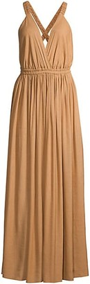 Matteau V-Neck Maxi Dress