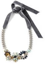 Banana Republic Velvet Focal Necklace
