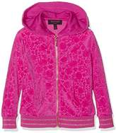 Juicy Couture Girl's FT Castle Hill Jacq Vlr Jacket Hoodie