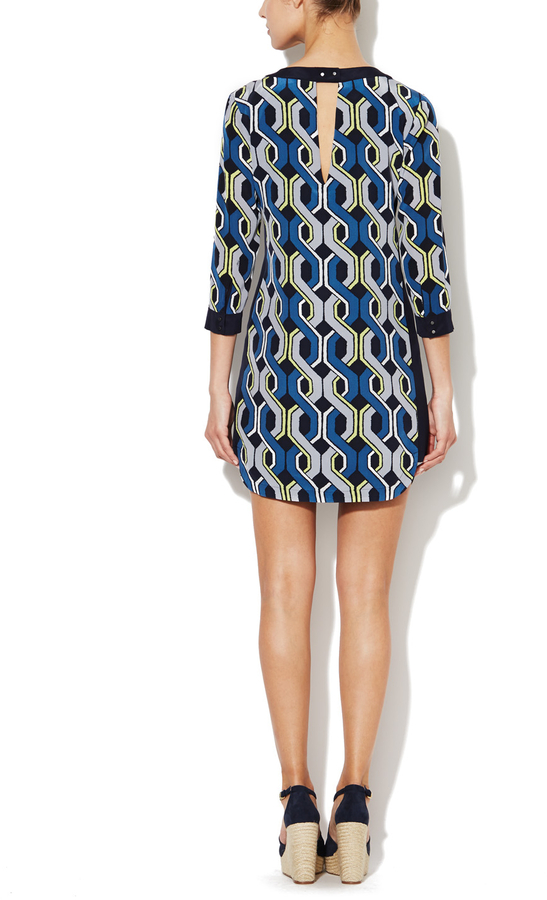 Trina Turk Darcie Silk Shift Dress