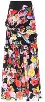 Preen by Thornton Bregazzi Aurelia floral-printed maxi skirt