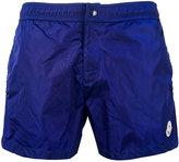 Moncler side stripe swim shorts - men - Polyester/Polyimide - M
