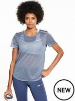 Nike Running Breathe Short Sleeve Top