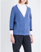 Brunello Cucinelli Monili chain-embellished cashmere cardigan