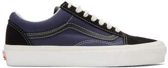 Vans Black and Blue OG Old Skool LX Sneakers