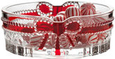 Mikasa Celebrations Red Ribbon Oval Candy Dish