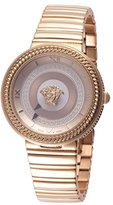 Versace Women's 'V-METAL ICON' Swiss Quartz Stainless Steel Casual Watch (Model: VLC100014)