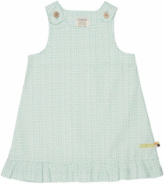 loud + proud Girl's Gewebtes Kleid Mit Druck Playwear Dress