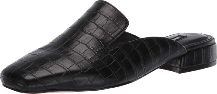 Nine West Womens YOBIE Leather Loafer Flat