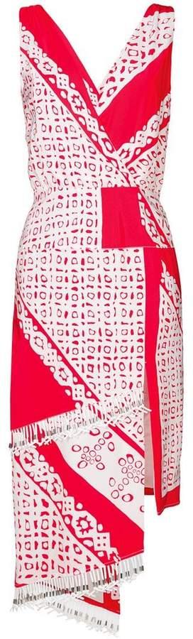 Altuzarra print Pavillon wrap dress