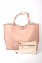 Street Level Nude Reversible Tote