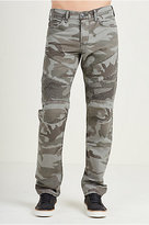 True Religion Geno Slim Moto Camo Mens Pant