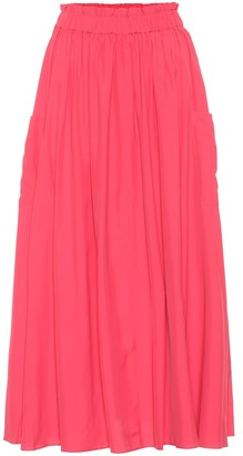 Co High-rise midi skirt