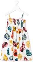 Dolce & Gabbana shell print dress