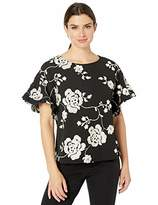 ECI New York Women's Double Bell Sleeve top