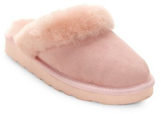 Australia Luxe Collective Dyed Shearling Closed Mule Slippers