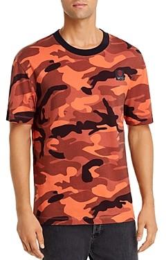 McQ Camouflage Print Tee