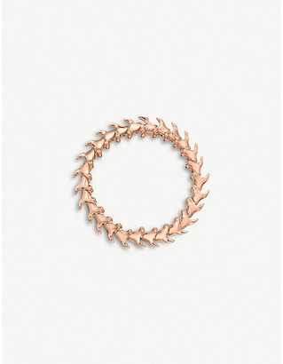 Shaun Leane Serpent Trace wide rose gold-plated vermeil silver bracelet