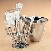 'Faces' Stainless Steel Bar Set by WMF/USA