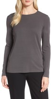 Eileen Fisher Women's Silk Knit Top