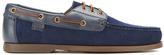 Polo Ralph Lauren Men's Bienne II Suede Boat Shoes Newport Navy/Newport Navy