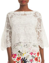 Trina Turk September Bell Sleeve Lace Top