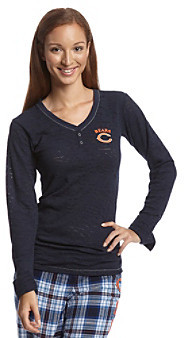 College Concepts Long Sleeve Chicago Bears Top