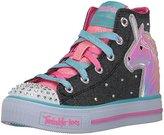 Skechers Girls' Shuffles-Prancing Pretty Sneaker
