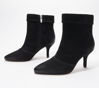 Vince Camuto Leather or Suede Ankle Boots - Amvita