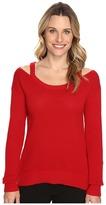MICHAEL Michael Kors Open Shoulder Sweater