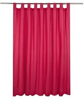 George Home Hot Pink Longer Length Curtains 66x54in