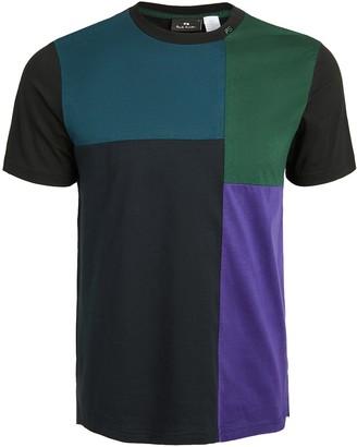 Paul Smith Regular Fit Colorblocked Tee Shirt