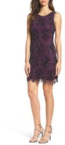 Pisarro Nights Women's Beaded Sheath Dress
