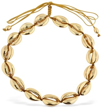 Tohum Design Large Faux Puka Shell Necklace