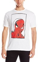 Marvel Men's Spiderman Oh Man Short Sleeve Graphic T-Shirt