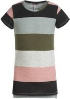 Poof Too Mega Stripe Shirt - Short Sleeve (For Big Girls)
