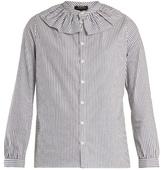 A.P.C. Sixtine striped cotton blouse