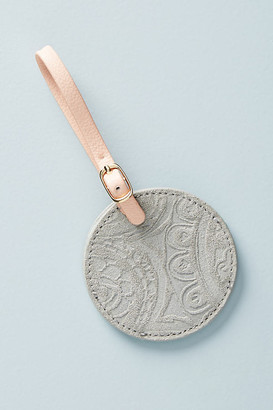 Anthropologie Foxglove Luggage Tag By in Grey Size S