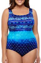 Longitude Plus Maharani Printed One-Piece Swimsuit