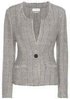 Etoile Isabel Marant Isabel Marant, Étoile Leary wool and linen-blend jacket