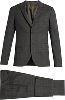 Valentino Prince of Wales-checked notch-lapel wool suit