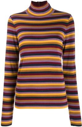 Tory Burch Striped Knit Jumper